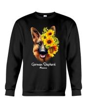 German Shepherd Mama Crewneck Sweatshirt thumbnail