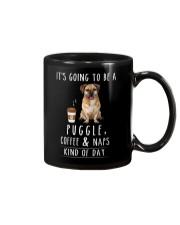 Puggle Coffee and Naps Mug thumbnail