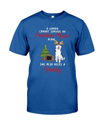 Christmas Movies and Husky