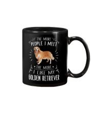 The More I Like My Golden Retriever Mug thumbnail