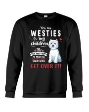 My Westies - My Children Crewneck Sweatshirt thumbnail