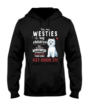 My Westies - My Children Hooded Sweatshirt thumbnail