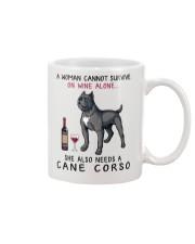 Wine and Cane Corso 4 Mug thumbnail