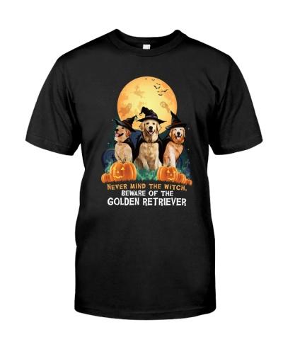 Howloween Golden Retriever 2