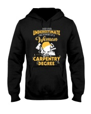 Woman Carpenter Hooded Sweatshirt thumbnail