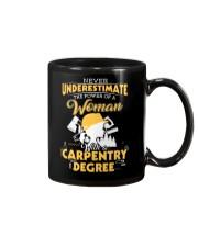 Woman Carpenter Mug thumbnail