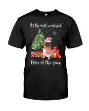 The Most Wonderful Xmas - Pug Classic T-Shirt tile