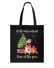 The Most Wonderful Xmas - Pug Tote Bag tile