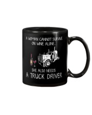 Wine and A Truck Driver Mug thumbnail