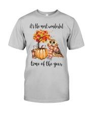 The Most Wonderful Time - Owl Classic T-Shirt front