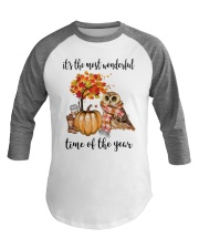 The Most Wonderful Time - Owl Baseball Tee thumbnail