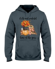 The Most Wonderful Time - Owl Hooded Sweatshirt thumbnail