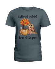 The Most Wonderful Time - Owl Ladies T-Shirt thumbnail