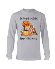 The Most Wonderful Time - Owl Long Sleeve Tee thumbnail