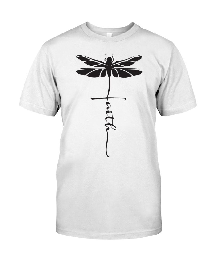Dragonfly Faith Classic T-Shirt