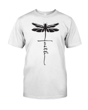 Dragonfly Faith Classic T-Shirt front