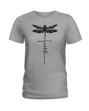 Dragonfly Faith Ladies T-Shirt thumbnail