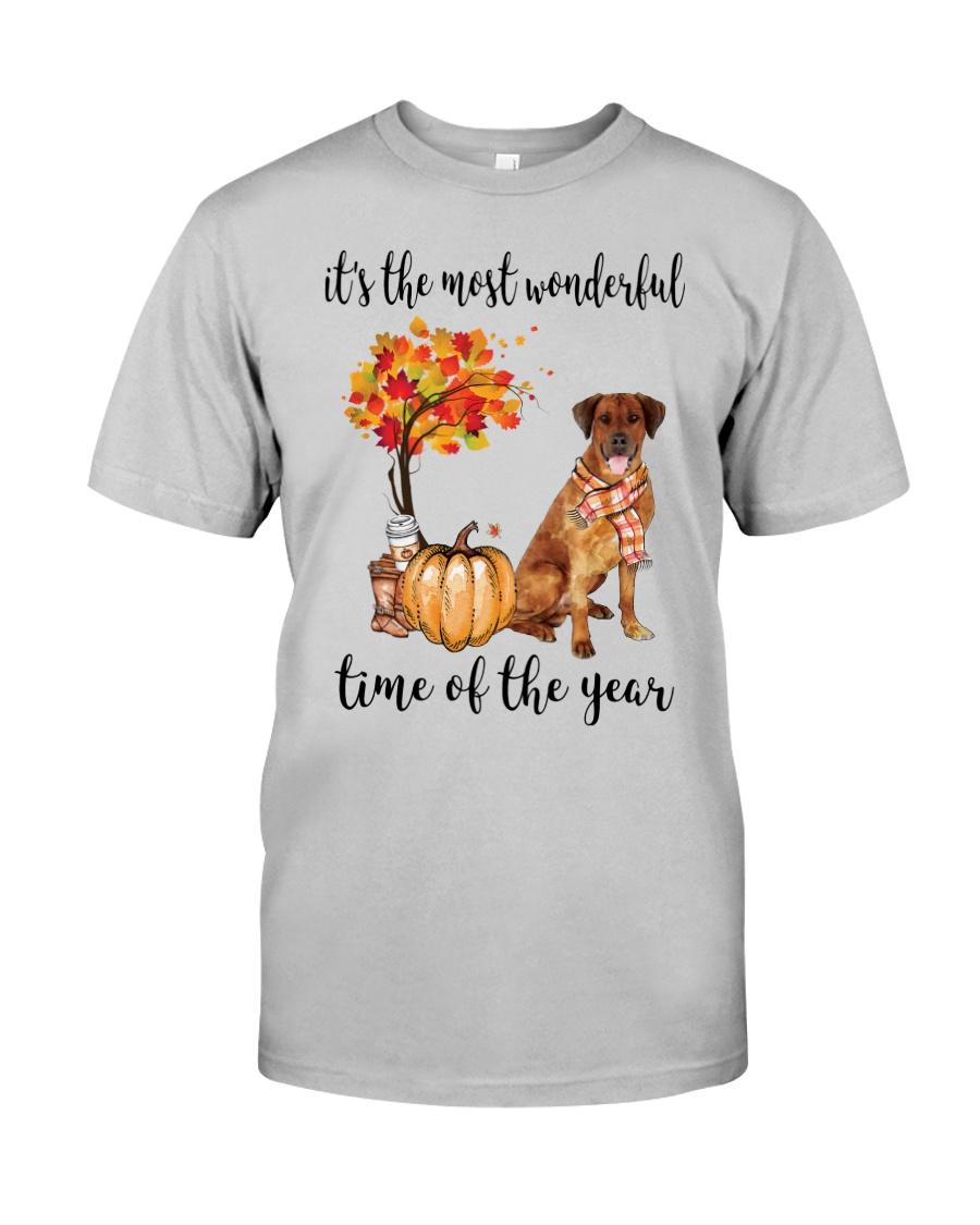 The Most Wonderful Time - Rhodesian Ridgeback Classic T-Shirt