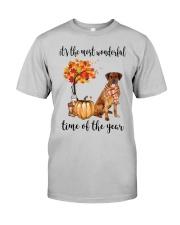 The Most Wonderful Time - Rhodesian Ridgeback Classic T-Shirt front