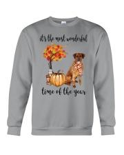 The Most Wonderful Time - Rhodesian Ridgeback Crewneck Sweatshirt thumbnail