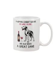 Wine and Great Dane 2 Mug thumbnail