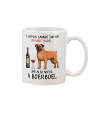 Wine and Boerboel 2 Mug thumbnail