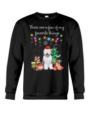 A Few of My Favorite Things - Old English Sheepdog Crewneck Sweatshirt thumbnail