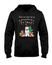 A Few of My Favorite Things - Old English Sheepdog Hooded Sweatshirt thumbnail