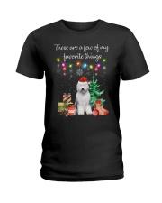 A Few of My Favorite Things - Old English Sheepdog Ladies T-Shirt thumbnail