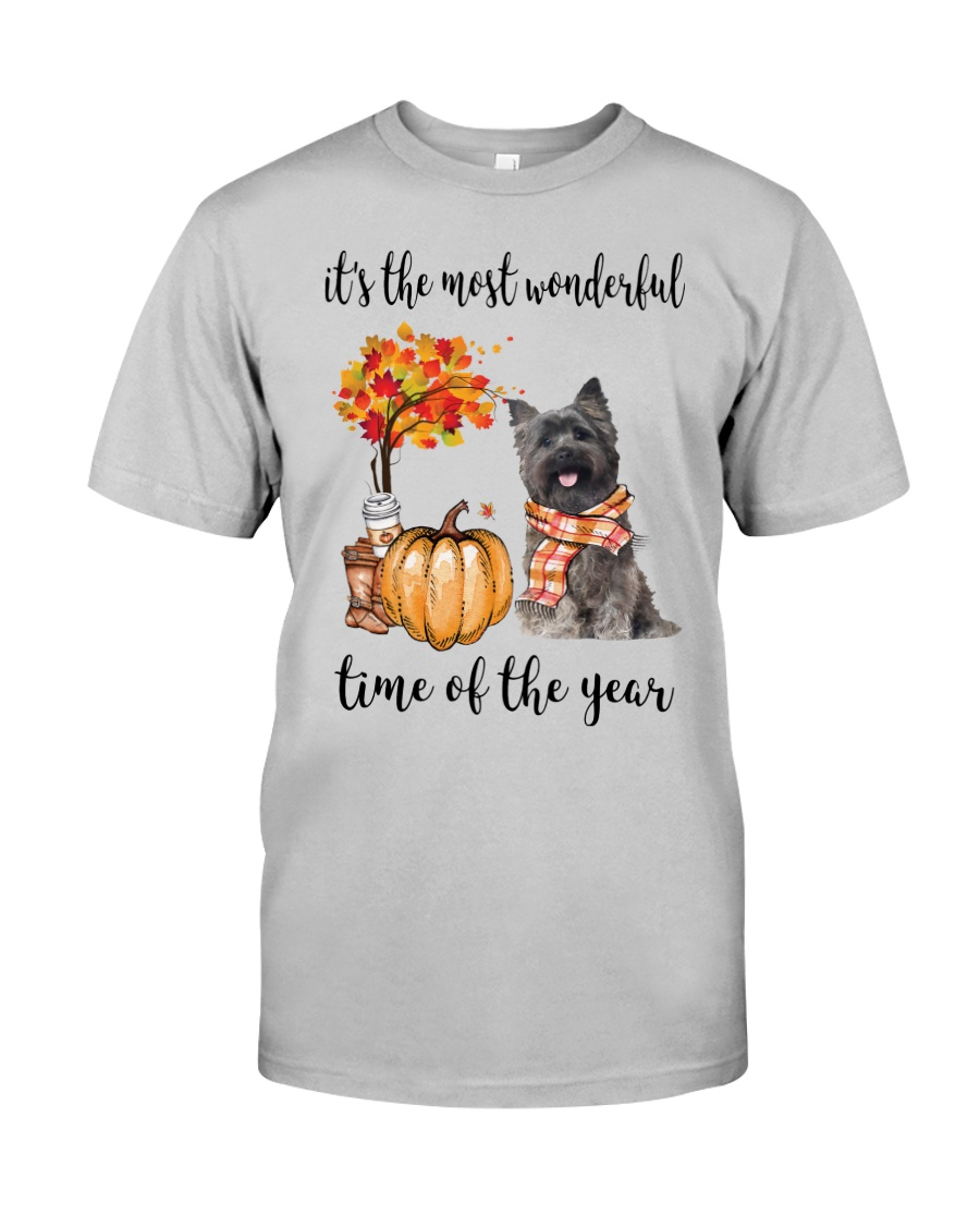 The Most Wonderful Time - Cairn Terrier Classic T-Shirt