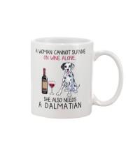 Wine and Dalmatian 2 Mug thumbnail