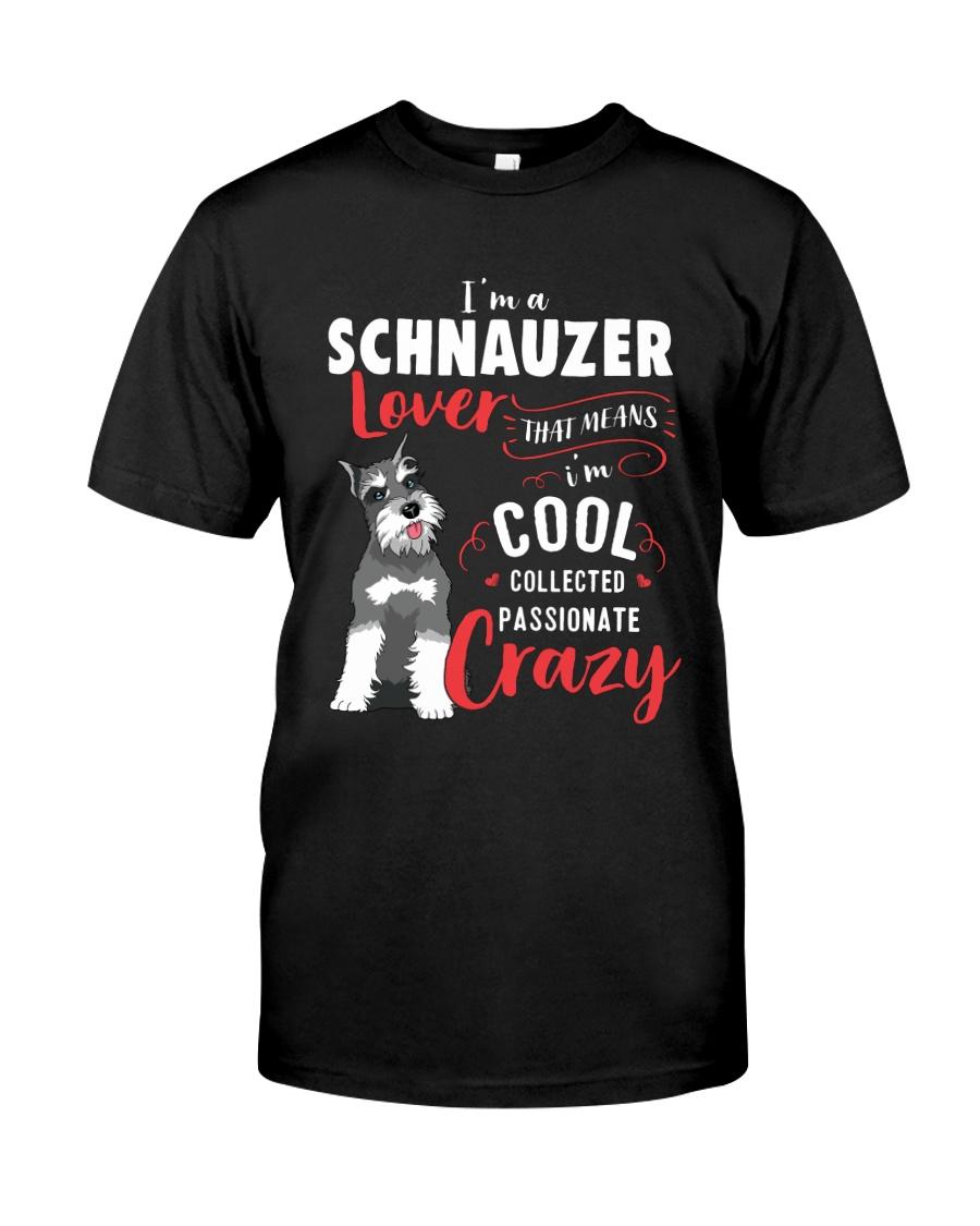 I'm a Schnauzer Lover Classic T-Shirt