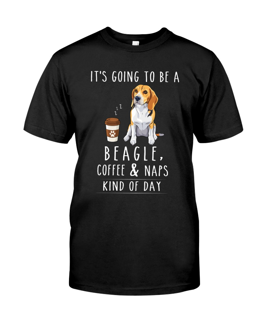 Beagle Coffee and Naps Classic T-Shirt