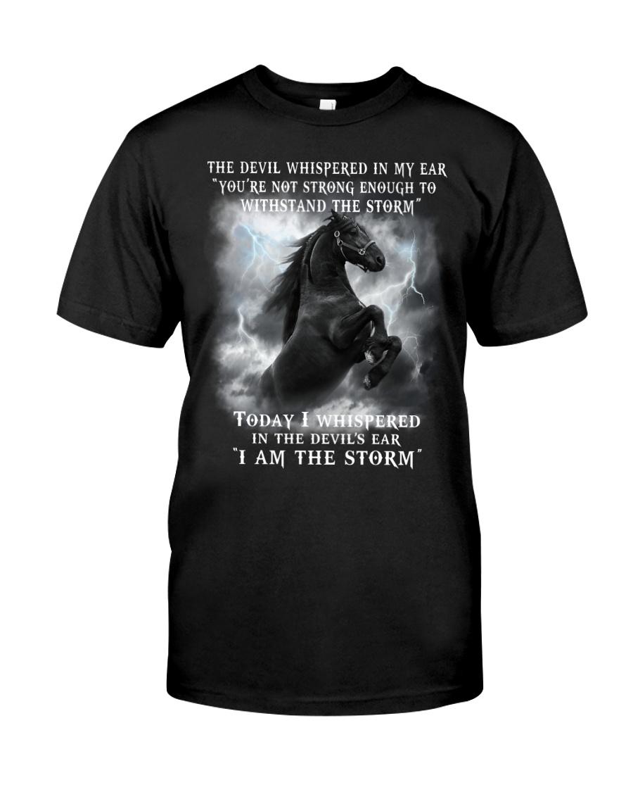 Horse The Storm Classic T-Shirt
