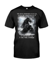 Horse The Storm Classic T-Shirt front