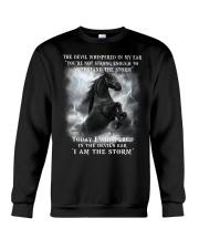 Horse The Storm Crewneck Sweatshirt thumbnail