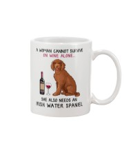 Wine and Irish Water Spaniel 2 Mug thumbnail
