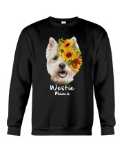 Westie Mama Crewneck Sweatshirt thumbnail