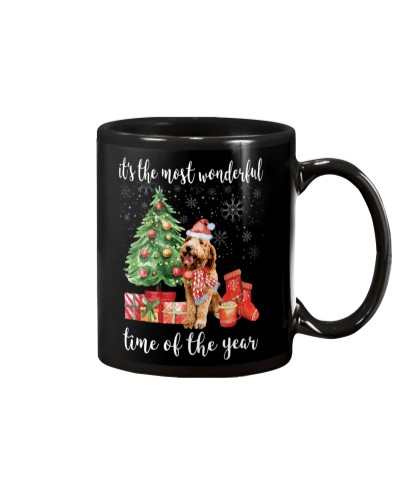 The Most Wonderful Xmas - Goldendoodle