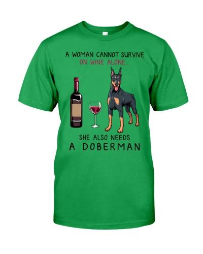 Wine and Doberman 2