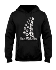 Never Walk Alone Hooded Sweatshirt thumbnail