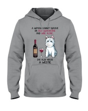 Cannot Survive Alone - Westie Hooded Sweatshirt thumbnail