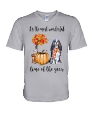 The Most Wonderful Time - Cavalier V-Neck T-Shirt thumbnail