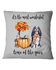 The Most Wonderful Time - Cavalier Square Pillowcase thumbnail