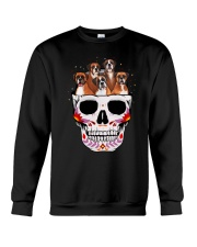 Half Skull Boxer Crewneck Sweatshirt thumbnail