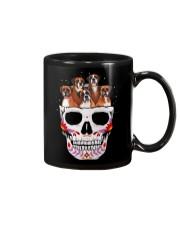 Half Skull Boxer Mug thumbnail