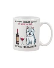Wine and Westie 2 Mug thumbnail