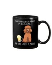 Beer and Poodle Mug thumbnail