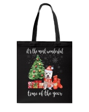 The Most Wonderful Xmas - Westie Tote Bag thumbnail