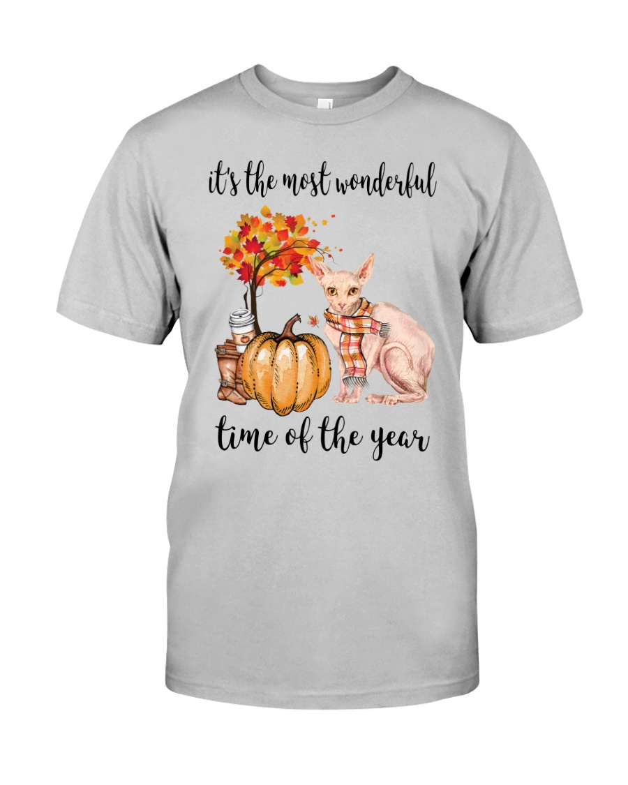 The Most Wonderful Time - Sphynx Cat Classic T-Shirt